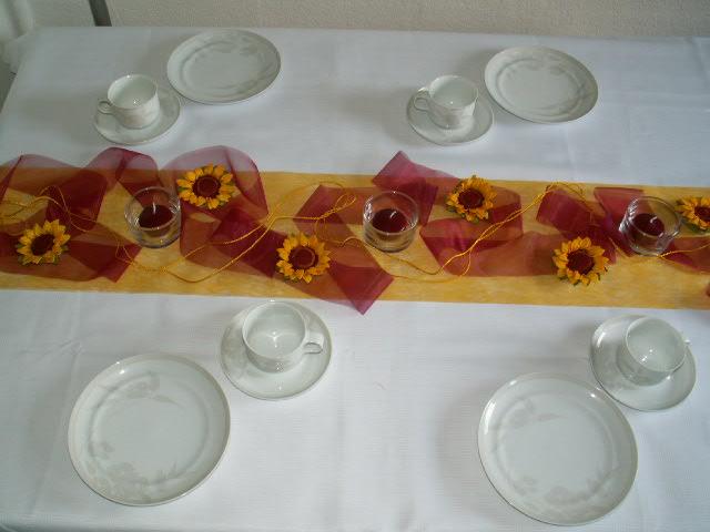 Tischdekoration herbst 03 die tischdekoration zu allen for Tischdekoration herbst