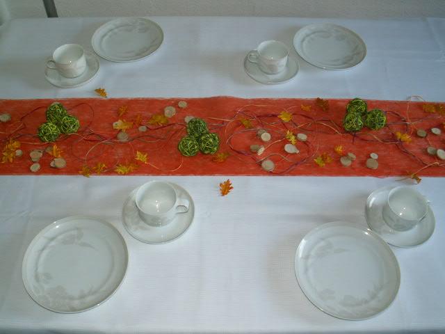 Tischdekoration herbst 07 die tischdekoration zu allen for Tischdekoration herbst