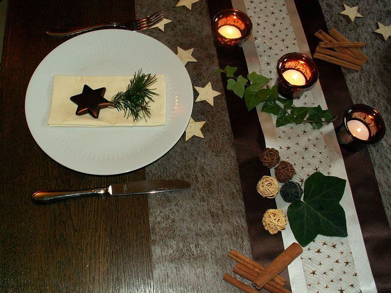 tischdekoration weihnachten 7 tischdeko weihnachten. Black Bedroom Furniture Sets. Home Design Ideas