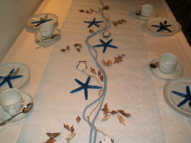 Tischdeko Maritim 2 - Die Tischdekoration zu allen ...