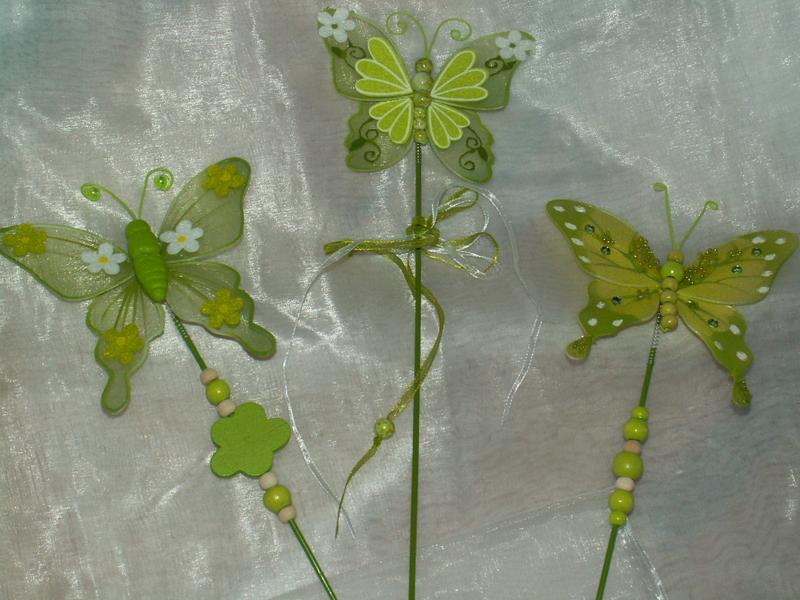 Schmetterlinge Organza 3 Stück - Die Tischdekoration zu ...