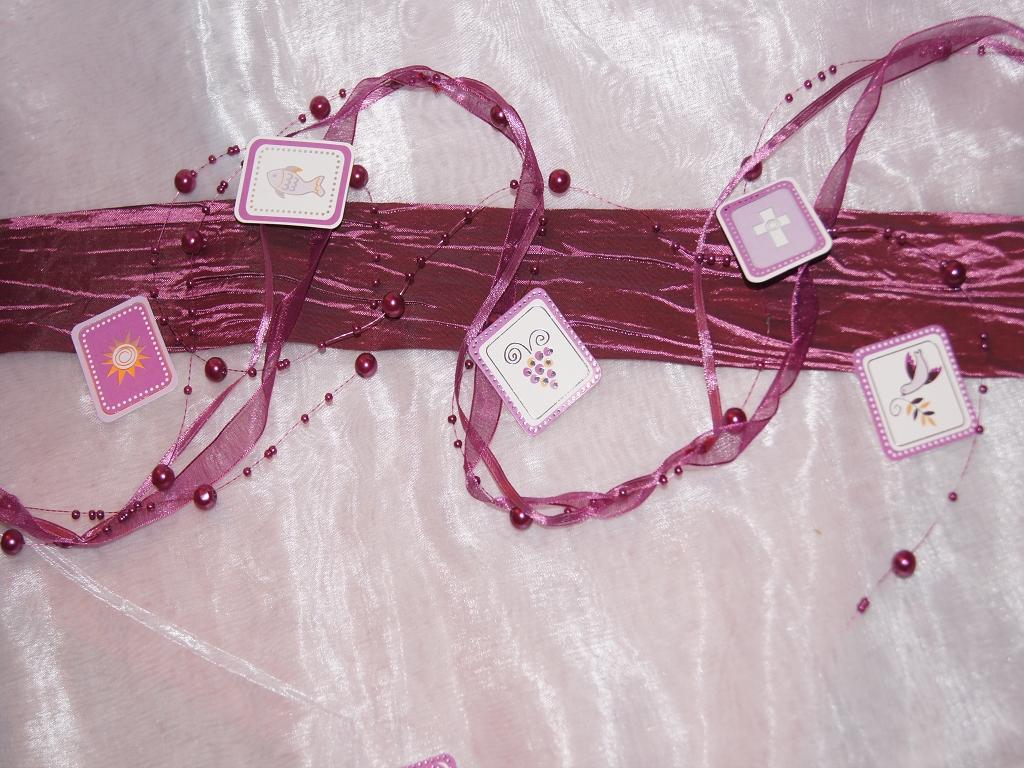 Streuartikel kommunion pink fuchsia die tischdeko for Tischdeko pink