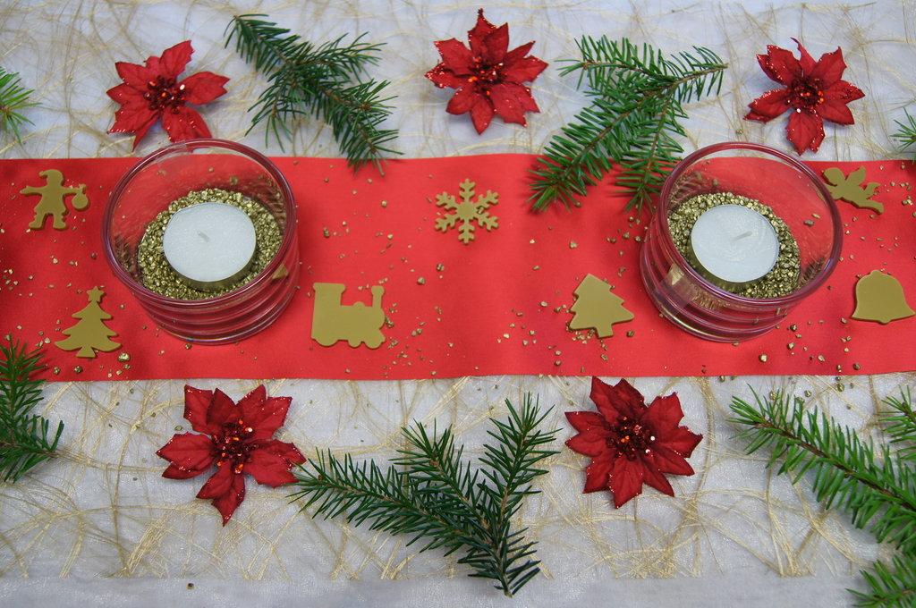 weihnachtsstern rot tischdeko weihnachten. Black Bedroom Furniture Sets. Home Design Ideas