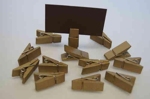 tischkartenhalter klammer gold tischdeko. Black Bedroom Furniture Sets. Home Design Ideas