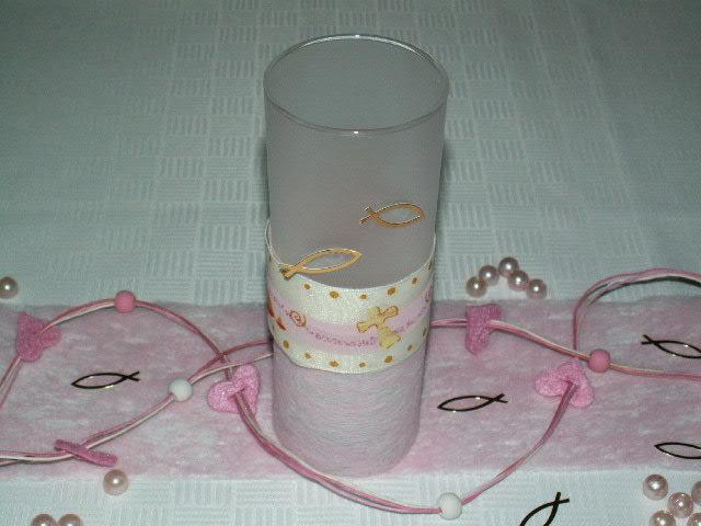 Tischdekoration Kommunion Konfirmation Rosa Die Tischdekoration Zu