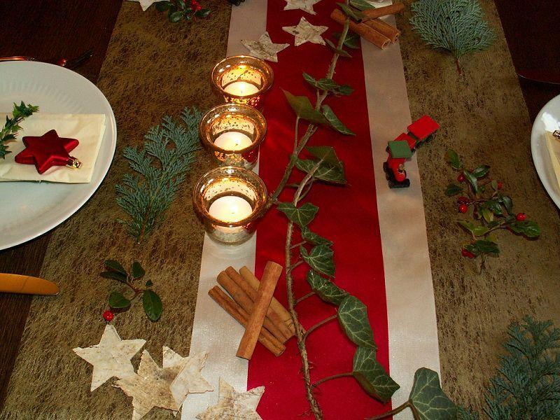 Tischdekoration Weihnachten 3 Tischdeko Weihnachten
