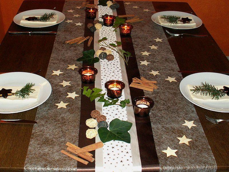 Einfache Herbstdeko Tisch tischdekoration weihnachten 5 - tischdeko weihnachten