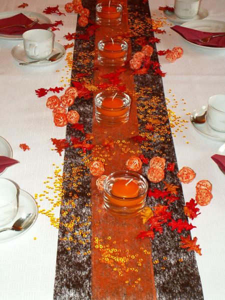 Tischdeko Herbst 11 Die Tischdekoration Zu Allen