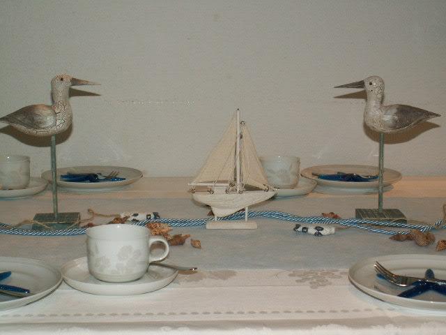 Tischdeko Maritim 3 Die Tischdekoration Zu Allen Gelegenheiten