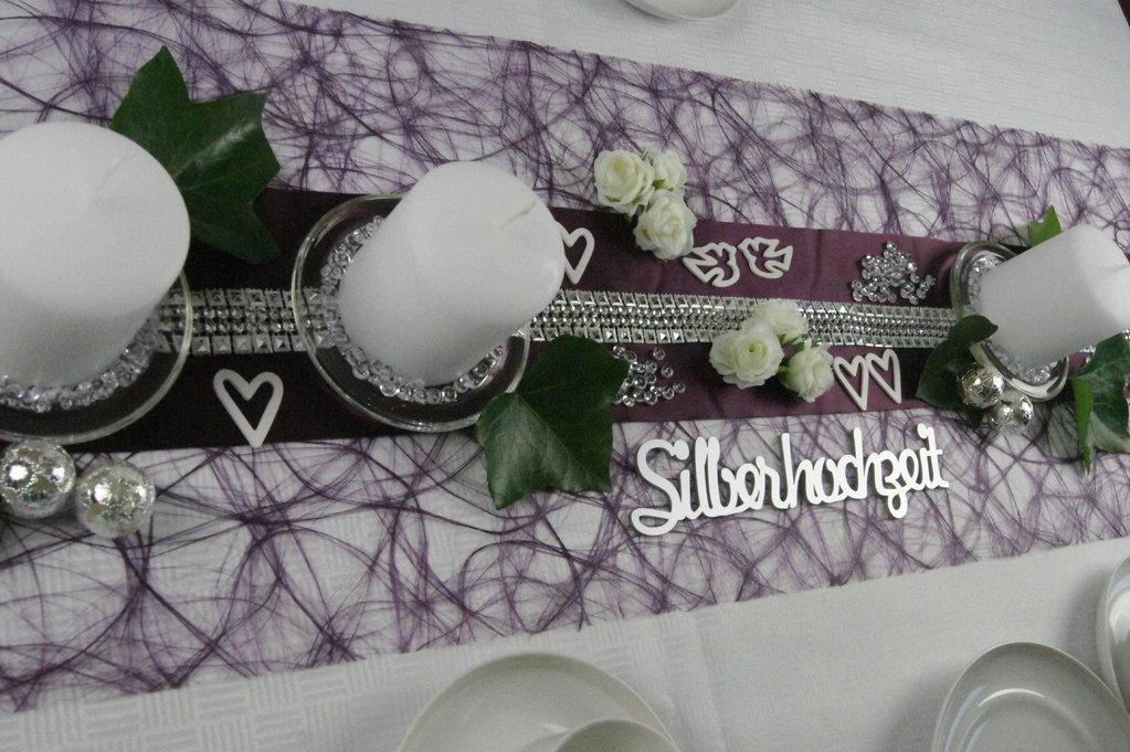 Tischdeko silberhochzeit 2 tischdeko silberhochzeit shop - Tischdekoration silberhochzeit bilder ...