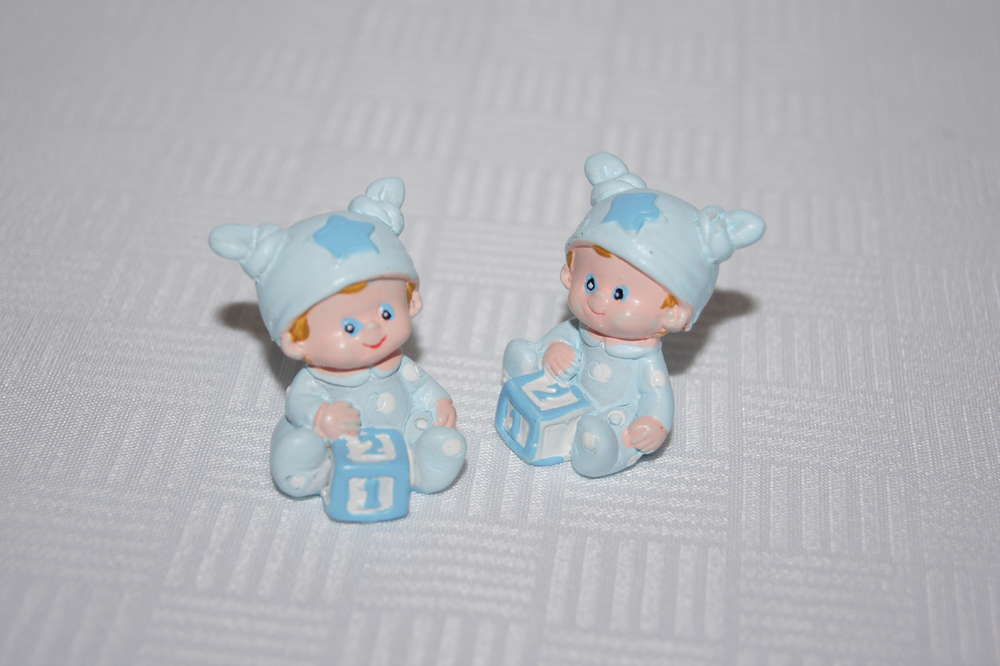 Baby Figur Taufe Junge Tischdeko Taufe